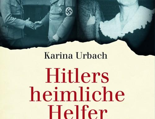 """""""Hitlers heimliche Helfer"""": Theiss-Autorin Karina Urbach im Exklusiv-Interview"""
