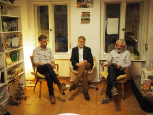 Lesung bei OstPost mit Josef Formánek