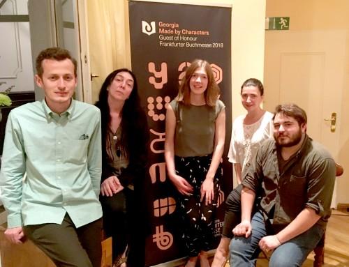 Georgische Abende in Frankfurt, Berlin und München – Auftakt zur großen Buchhandelskampagne des Ehrengastes der Frankfurter Buchmesse 2018