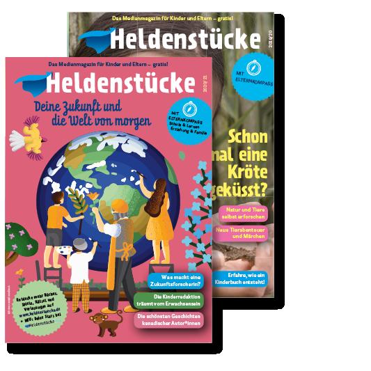 Heldenstücke Print-Magazine